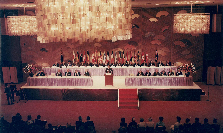 世界不動産連盟日本総会(1966年4月)
